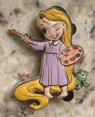 Rapunzel & Pascal Disney Pin Animators' Collection Mystery WDW Series 2 Tangled