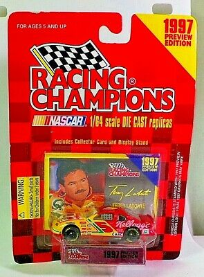 Racing Champions 1997 Preview #5 Terry Labonte Chevrolet Monte Carlo 1/64 Scale