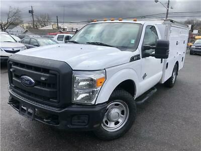 2012 Ford F-350 XL 2012 Ford Super Duty F-350 SRW XL 164,000 Miles WHITE Regular Cab Chassis-Cab Di