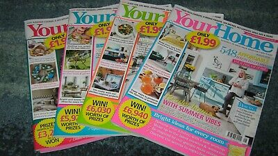 4 Your Home magazines 2019