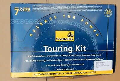 Scottoiler Mark 7 Touring Kit With Hcr Chain Lubrication System