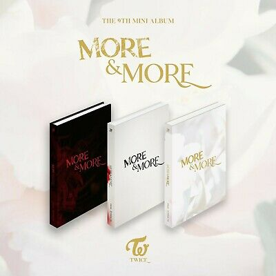 (PreOrder) TWICE - [ More & More ] 9th Mini Album (FULL SET) [A+B+C] *FreeCustom