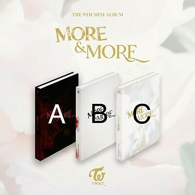(PreOrder) TWICE - [ More & More ] 9th Mini Album [NO PHOTOCARDS]