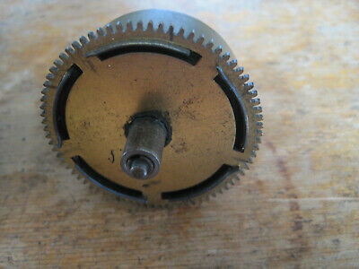 Clock Barrel with Mainspring, Diam 52.5mm x 66 Teeth, from Hermle clock