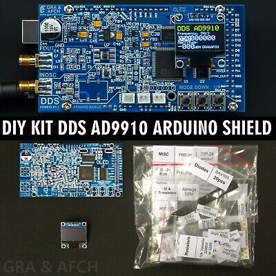 DIY KIT for DDS AD9910 Arduino Shield RF Signal Generator