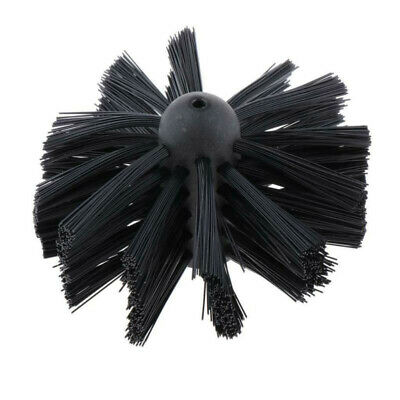 100mm Chimney Sweep Set Flue Sweeping Brush Rod Soot Cleaning Rods Gadget Useful