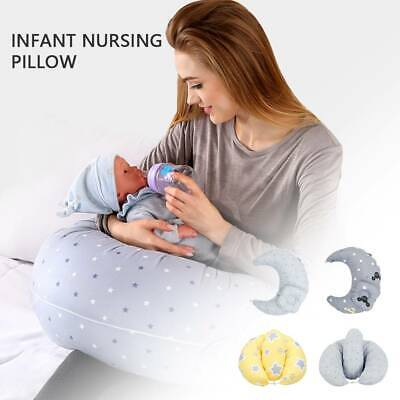 Nursing Pillow Breast Feeding Maternity Pregnancy U Shape Support Deluxe