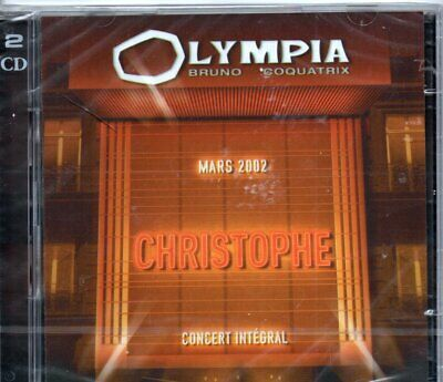 "Cd ""Christophe Olympia 2002""   Neuf Sous Blister"