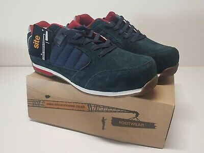 Site Strata Safety Trainers Navy Size