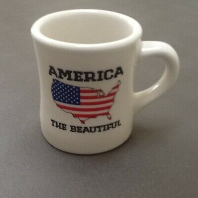 Waffle House 2012 America The Beautiful Collectible Diner Coffee Mug Cup