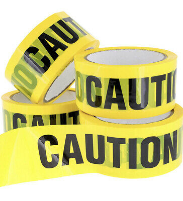 """caution barricade tape 3"""" By 1,000 Ft 4-pack"""
