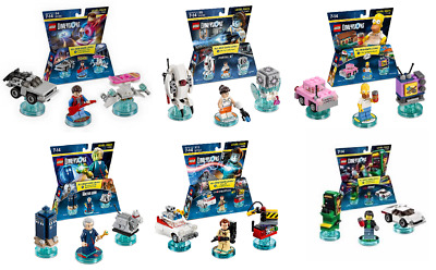 LEGO DIMENSIONS - Level Packs various single (NFC Tags ONLY - NO figures) *NEW*