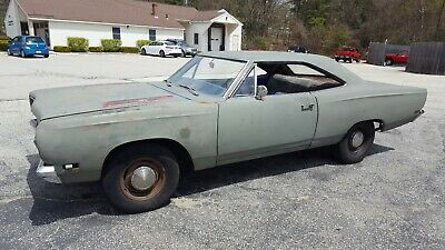 1969 Plymouth Road Runner Hardtop 1969 Plymouth Road Runner HARDTOP  383 4 speed runs and drives