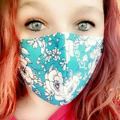 Homemade Fabric Reusable Face Mask washable home made SHIPS SAME DAY