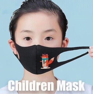 3 Pieces Kids Face Mask Reusable &Washable Easy to Breath! Cover Mouth & Nose