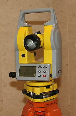 """Dual Face Electronic Theodolite 2"""" Accuracy"""