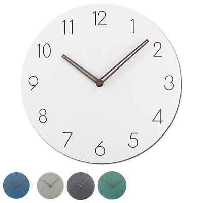 Wooden Wall Clock Face Round MDF Craft Blanks for DIY Clock Premium Quality