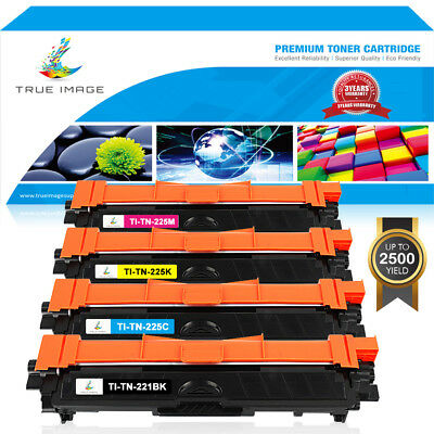 4x Compatible with Brother TN221 Black TN225 Color Toner MFC-9130CW MFC-9330CDW