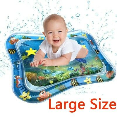 Inflatable Water Play Mat Infants Baby Toddlers Kid Perfect Fun Tummy Time Play.