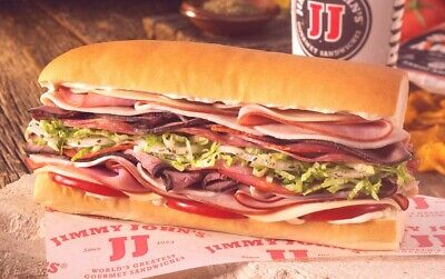 Jimmy John's Gift card $50 (Inbox Delivery)
