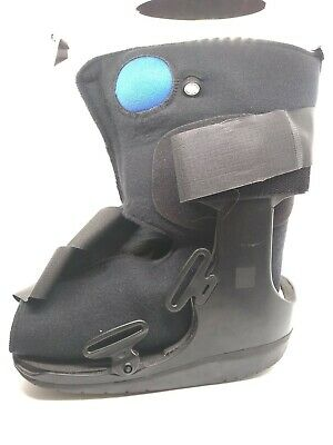 Orthopedic Walking Boot Size Medium Foot Ankle cast inflate/deflate