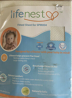 Lifenest Fitted Sheet For SPM004