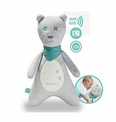 myHummy Ash White Noise Teddy White Noise Toy with Cry Sensor & Non Stop System