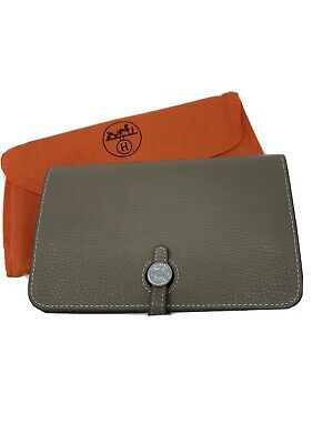 Authentic HERMES Dogon Duo combined wallet 1 Pc