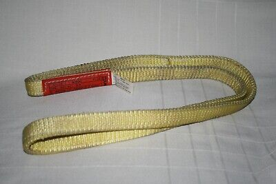 "LIFT-ALL EN2-801 Type 5 Endless WEB SLING Nylon 1"" WIDE 3 FT. LONG Tuff-Tag"