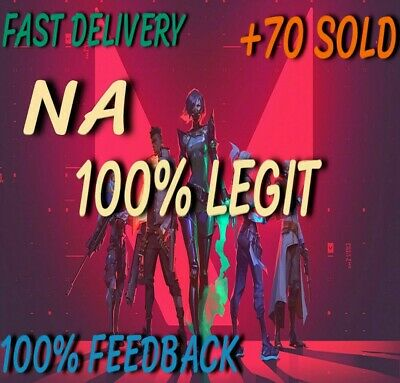 Valorant Key/Account (NA) Instant Delivery - Full And Permanent Access