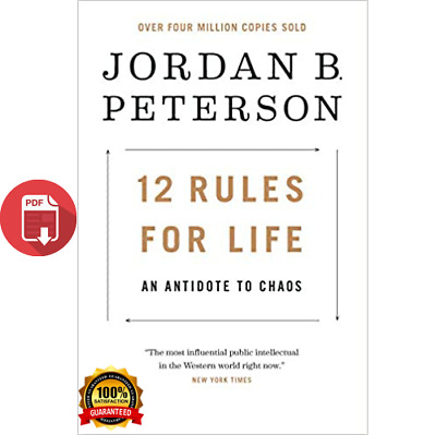 12 Rules for Life, An Antidote to Chaos By Jordan B. Peterson ⏳ (Digital Book) ⏳