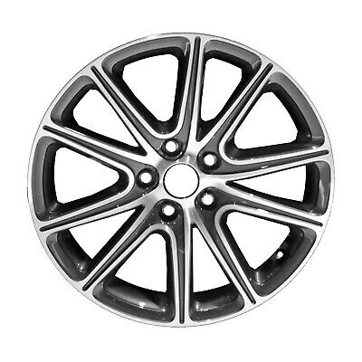 74762 Reconditioned OEM Factory Aluminum 18x7.5 Wheel Machined