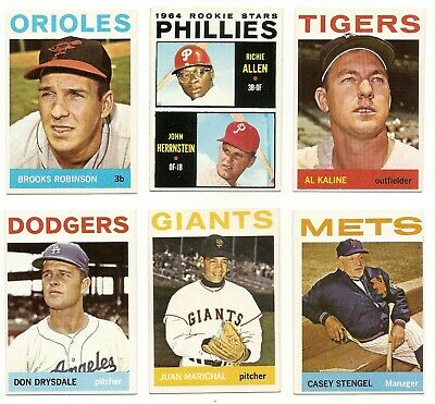 1964 Topps Stars and Commons * You Pick * Conditions Listed