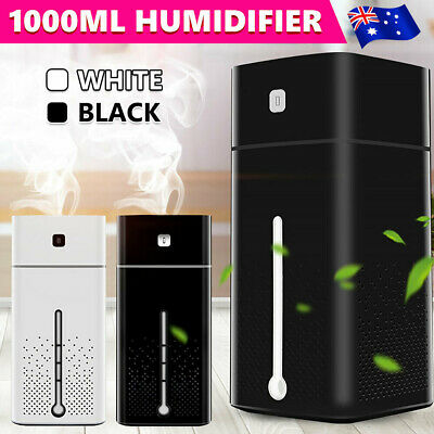 Aroma Aromatherapy Diffuser Essential Oil Ultrasonic Air Humidifier Purifier 1L