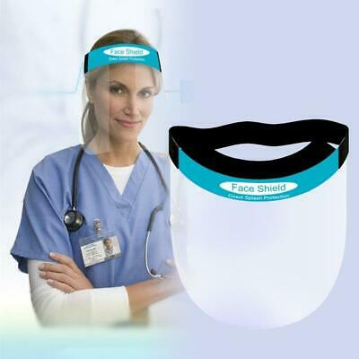 PPE Shield Face Shield Full Face Visor Protection Mask Transparent Clear Plastic