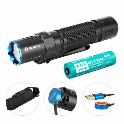 OLIGHT M2R PRO Warrior 1800 Lumens Dual Switch Rechargeable Tactical Flashlight