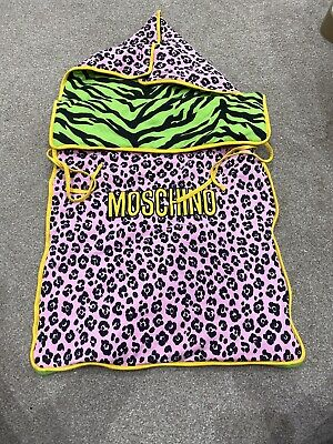 Moschino Baby Sleeping Bag Pod