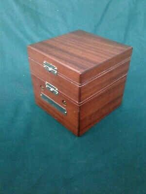Ships chronometer Hamilton 22 gimbaled mounting box