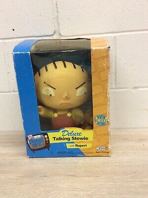Deluxe Talking Stewie With Rupert Family Guy NIB B99