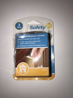 Safety 1st Spring 'n Release Latches *3-Pack* (48447)  (C3)