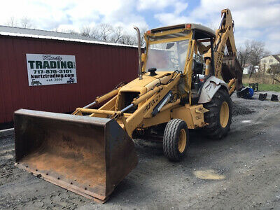 1997 New Holland 555E 2wd Tractor Loader Backhoe One Owner Only 2200 Hours!