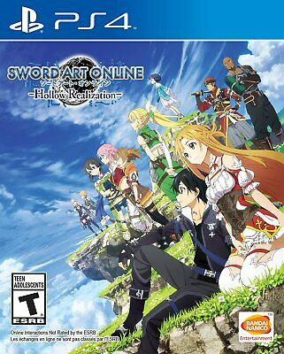 Sword Art Online: Hollow Realization Sony PlayStation 4 PS4- Factory Sealed NEW
