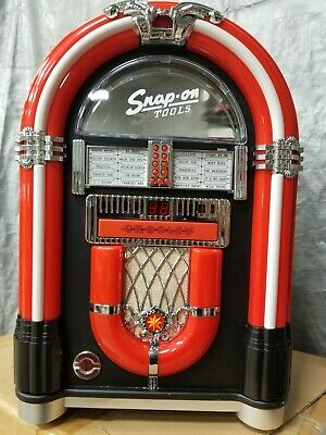 Snap-On Tools Crosley Ijuke Premier Jukebox Ipod Cd Player  New In Box