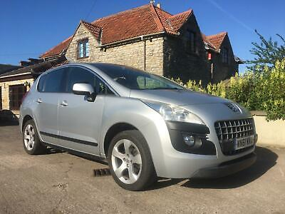 2012 Peugeot 3008 Crossover 1.6HDi ( 112bhp ) FAP 6sp Sport, new clutch and DMF