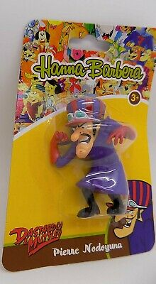 Dick Dastardly Wacky Hanna Barbera Carded PVC Figure Columbia promo