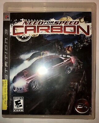 Need For Speed Carbon Playstation 3 Ps3 Complete In Box W Manual