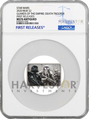 2020 Star Wars - Guards Of The Empire - Death Trooper - Ngc Ms70 First Releases