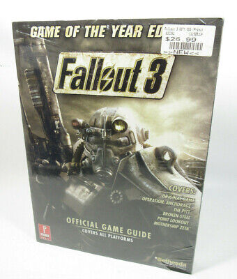 New Fallout 3 Game of the Year Edition: Prima Official Game Guide