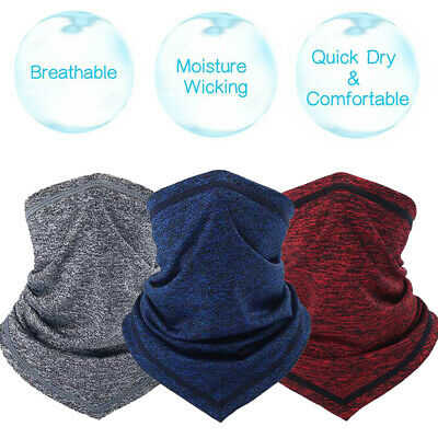Mens Womens Summer Cooling Neck Gaiter Tube Face Mask Scarf Head Wrap for Sports