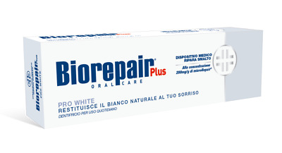 Biorepair®ProWhite MicroRepair® Toothpaste Restores Teeth Whitening Protection